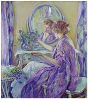 Purple Boudoir Fine-Art Print