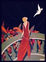 Art Deco Woman 4 Fine-Art Print