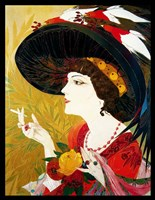 De Feure Smoking Woman IV Fine-Art Print