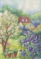 A Lilac Garden Fine-Art Print