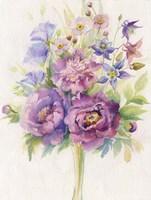 Purple Blooms Fine-Art Print