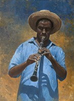 Clarinet Player Fine-Art Print