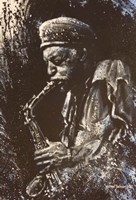 Jazz Player Fine-Art Print