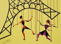 No Strings Attached yellow Fine-Art Print
