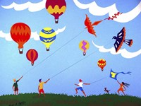 Go Fly a Kite Fine-Art Print