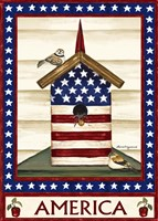 Americana Birdhouse Fine-Art Print