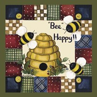 Bee Happy Fine-Art Print