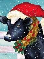 Christmas Cow Fine-Art Print
