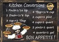 Kitchen Conversions 2 Fine-Art Print