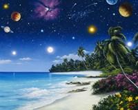 Celestial Shores Fine-Art Print