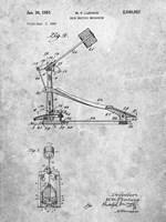 Drum Beating Mechanism Patent Fine-Art Print
