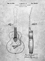 Guitar of Similar Musical Instrument Patent Fine-Art Print