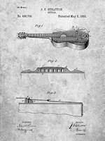 Stratton Guitar Patent Fine-Art Print