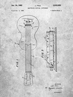 Electrical Musical Instrument Patent Fine-Art Print