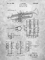 Musical Instrument Patent Fine-Art Print
