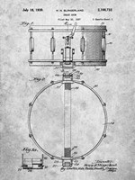 Snare Drum Patent Fine-Art Print