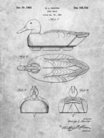 Duck Decoy Patent Fine-Art Print