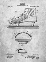 Hockey Shoe Patent Fine-Art Print