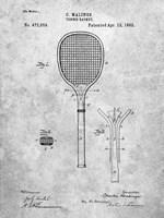 Tennis Racket Patent Fine-Art Print