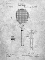 Tennis Racket Patent Fine-Art Print