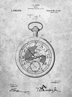 Watch Patent Fine-Art Print