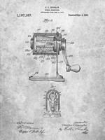 Pencil Sharpener Patent Fine-Art Print