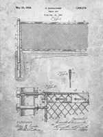 Tennis Net Patent Fine-Art Print