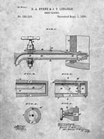 Beer Faucet Patent Fine-Art Print