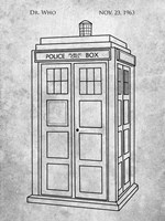 Dr. Who - Police Box Fine-Art Print
