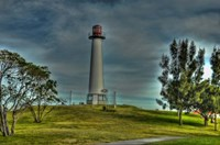 Lighthouse with Red Top Fine-Art Print