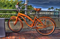 Orange Bike Fine-Art Print