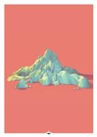 Low Poly Mountain 1 Fine-Art Print