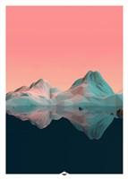 Low Poly Mountain 7 Fine-Art Print