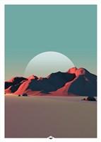 Low Poly Mountain 8 Fine-Art Print