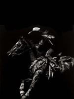 Scratchboard Rodeo I Fine-Art Print