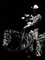 Scratchboard Rodeo II Fine-Art Print