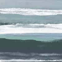 Teal Sea II Fine-Art Print