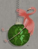 Flamingo Wrecking Ball Fine-Art Print