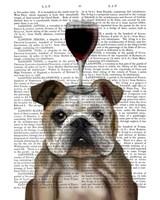 Dog Au Vin, English Bulldog Fine-Art Print