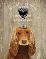Dog Au Vin, Cocker Spaniel Fine-Art Print