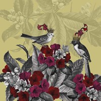 Blooming Birds, Azalea Fine-Art Print