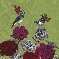 Blooming Birds, Rhododendron Fine-Art Print