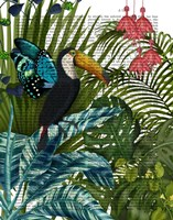 Toucan in Tropical Forest Fine-Art Print