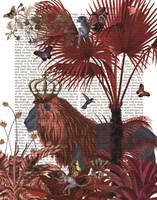 Red Lion, Portrait Fine-Art Print