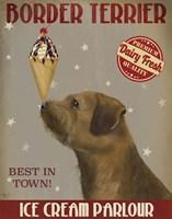 Border Terrier Ice Cream Fine-Art Print