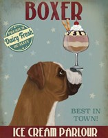 Boxer Ice Cream Fine-Art Print