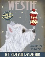 Westie Ice Cream Fine-Art Print