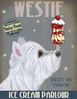 Westie Ice Cream Fine-Art Print