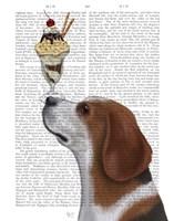 Beagle Ice Cream Fine-Art Print