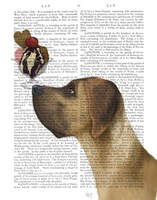 Great Dane, Tan, Ice Cream Fine-Art Print
